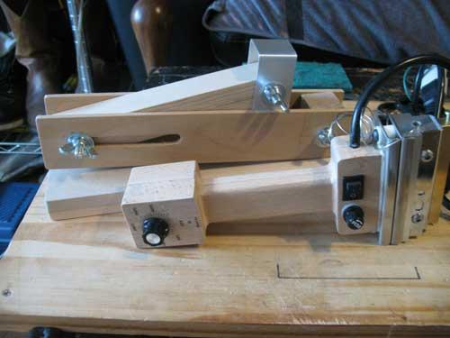 折りたたみ式 ホットスタンプ ハンディー用 ホールディングアーム