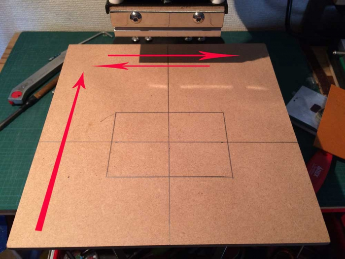 ホットスタンプpro用左右にスライドするテーブル作りました!!