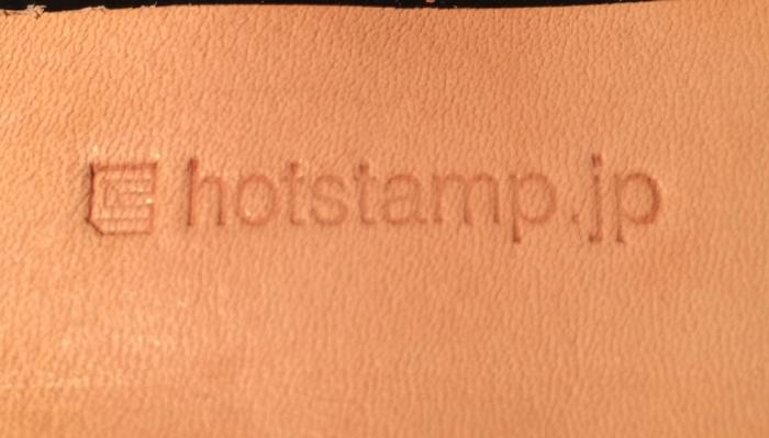 ちょっとハンディーホットスタンプ 文字用の 使い方を説明します!!2
