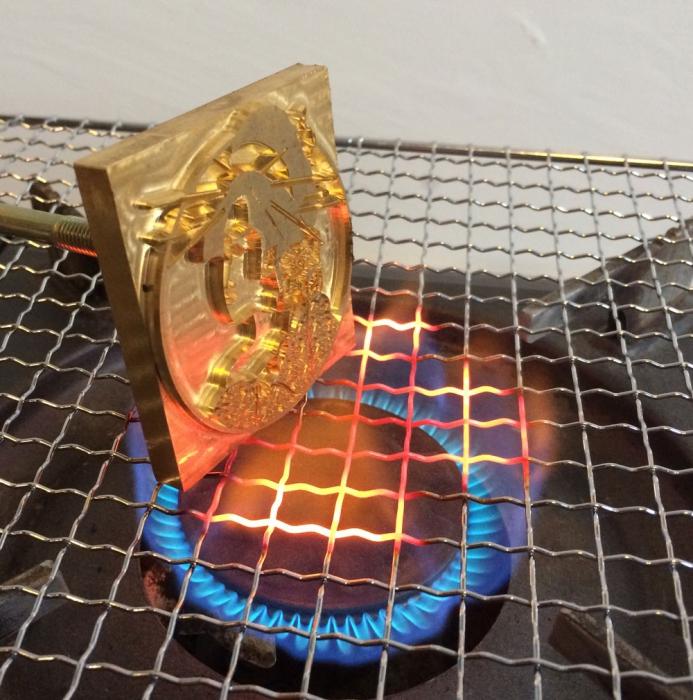 直火の加熱方法。カセットコンロを使って安全に。
